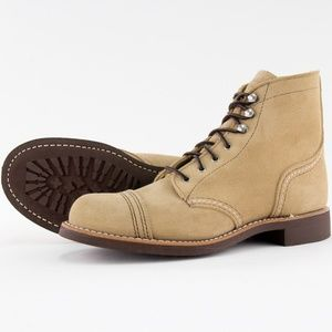 Red Wing Women's Iron Ranger 3368 Sand Leather